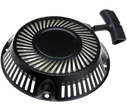 Amazon.com: Negro 1p60/64 Motores de gasolina Pull Starter ...