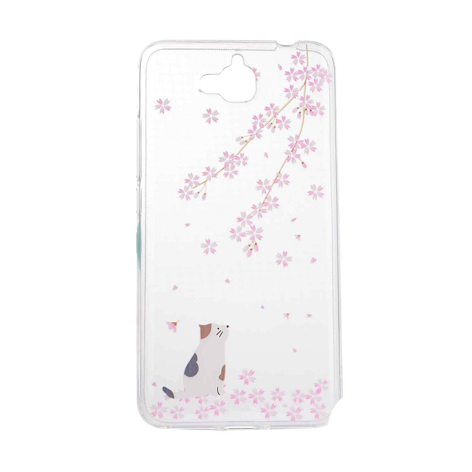Amazon.com: Cartoon Flower Butterfly Bear Tree Cute Back Cover Silicon Gel Soft TPU Mobile Phone Case for Huawei Y6 PRO Coque Honor 4C Pro +,17,for Huawei ...