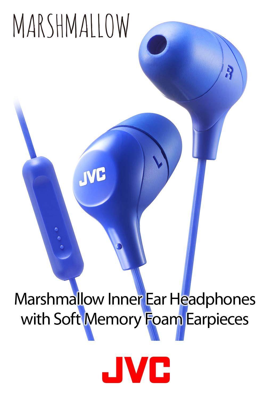 cb2dc0843eb Amazon.com: JVC Memory Foam Earbud Marshmallow Memory Foam Earbud with Mic  Green (HAFX38MG): Electronics