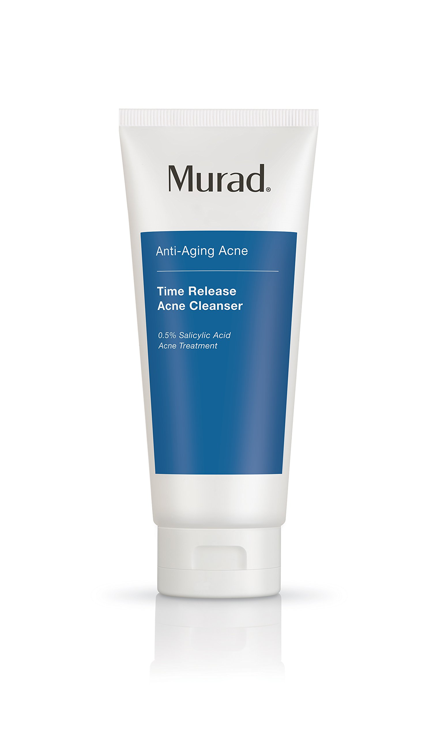 Murad Time Release Acne Cleanser - (6.75 fl oz), Anti-Aging Acne Cleanser with Sustained-Release 0.5% Salicylic Acid to Fight Acne All Day and Hydrate Skin without Over-Drying