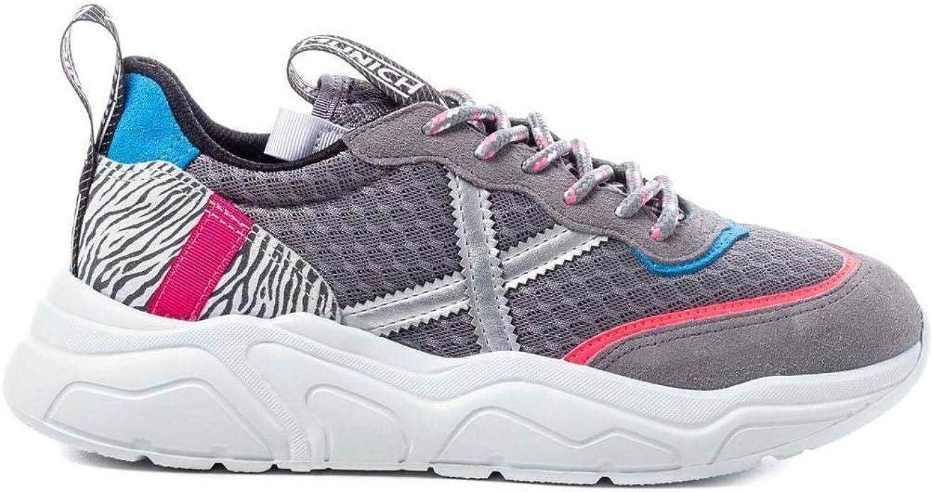 Zapatillas Munich Wave Pop 07 Mujer 41 Gris: Amazon.es: Zapatos y ...