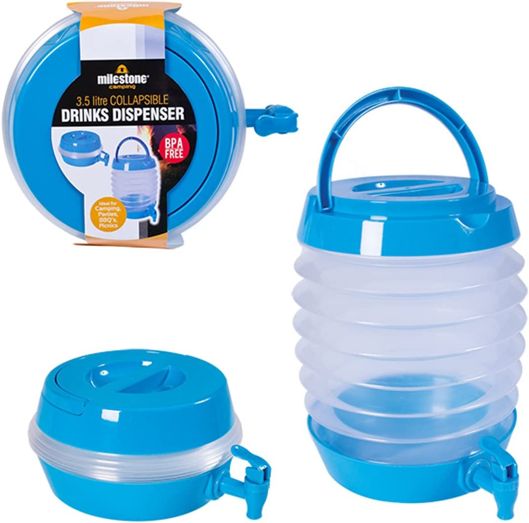 Amazon.com : Milestone Camping Unisex's Collapsible Drink ...