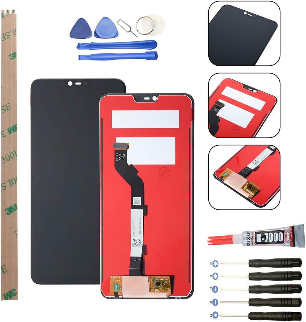 YHX-OU Pantalla LCD de Repuesto para Xiaomi Mi 8 Lite LCD Display (6,26 Pulgadas, Incluye Herramienta)