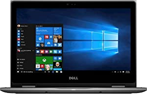 """Dell - Inspiron 2-in-1 13.3"""" Touch-Screen Laptop - Intel Core i7 - 8GB RAM - 256GB SSD - Gray"""