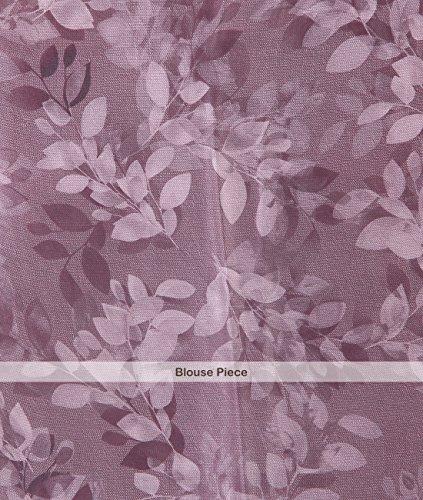 Indian Ethnic Crepe Multicolour Printed Saree by Simaaya Fashions Pvt Ltd (Image #3)