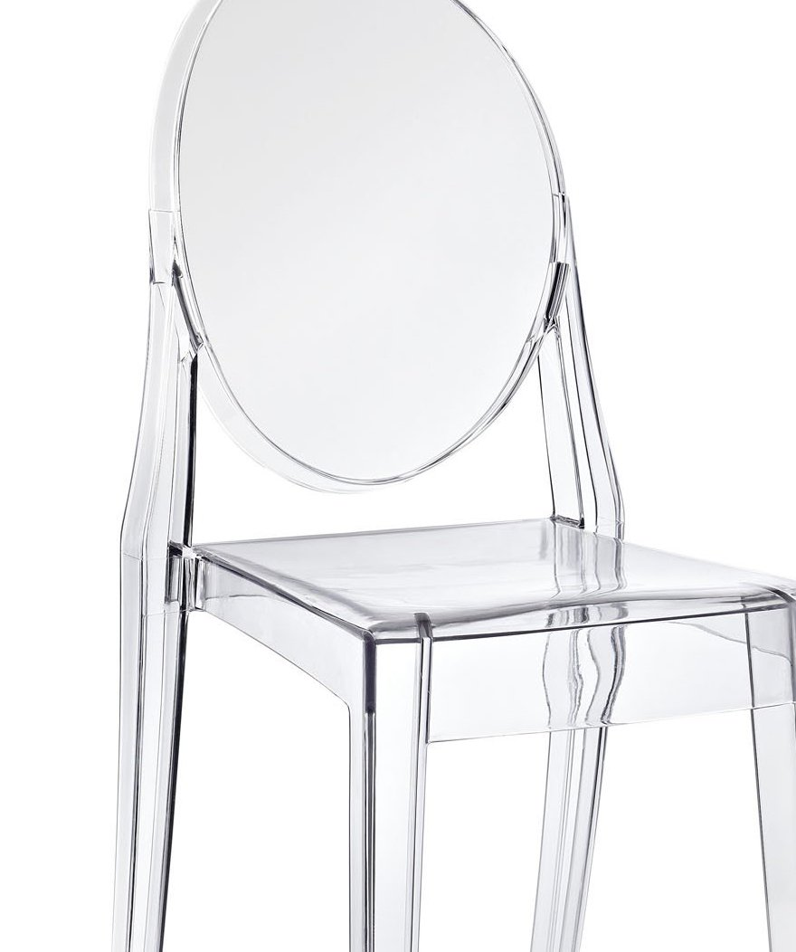 Modway Casper Dining Side Chair in Clear by Modway (Image #8)