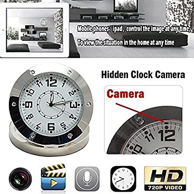 Spy Camera Clock WiFi Hidden Wireless Night Vision Security Nanny Cam HD 1080P by PlatinumTech from PlatiniumTech