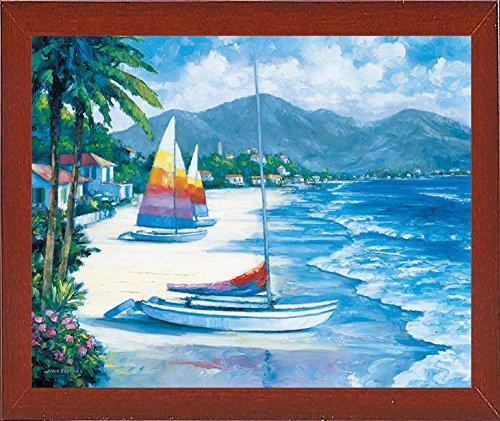 Frame USA Tropical Breezes-JOHZAC16380 Print 22.5
