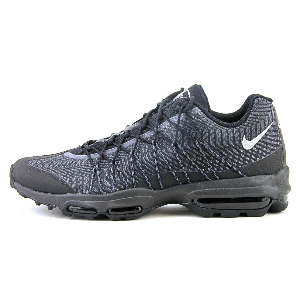 official photos 66b9a 43ef4 Nike Mens Air Max 95 Ultra JCRD BlackSilver-Dark Grey Fabric Size 9.5 Buy  Online at Low Prices in India - Amazon.in