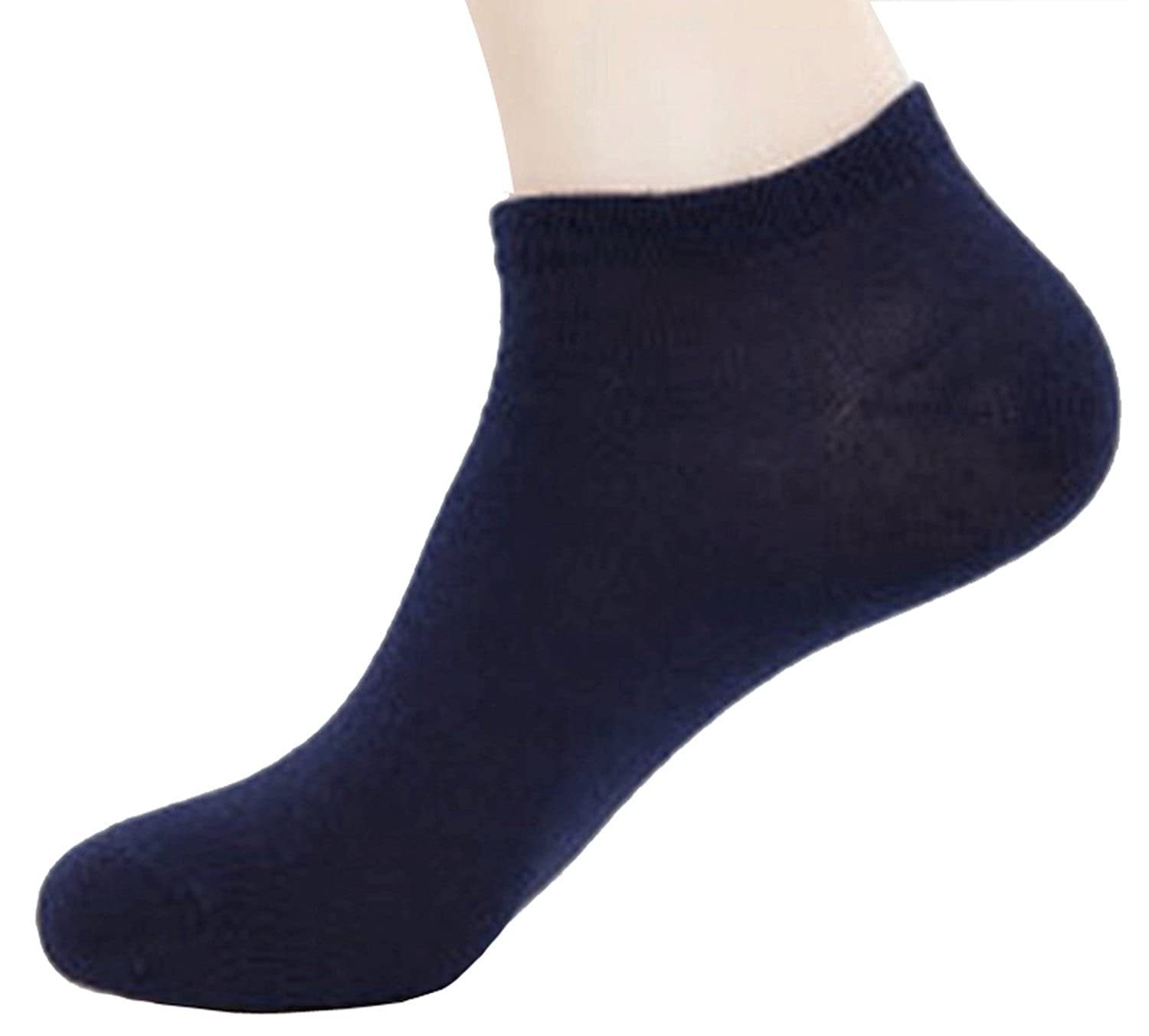 Dopeme 5 Pack of Men's Walking Ankle Crew Sock Athletic Socks DM008