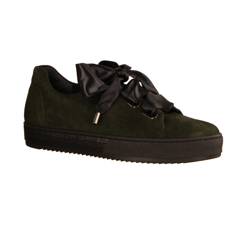 Gabor - Zapatillas para Mujer 38 EU|Verde Oscuro