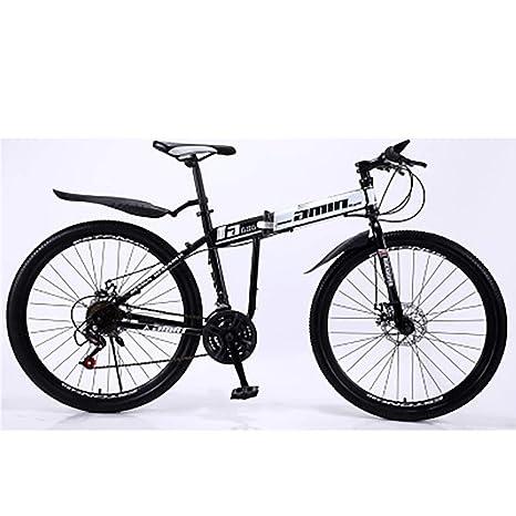 JAEJLQY Bicicleta Montaña- Rueda Integral 21/24/27/30 Velocidad ...