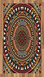 Tribal Area Rug by Ambesonne,
