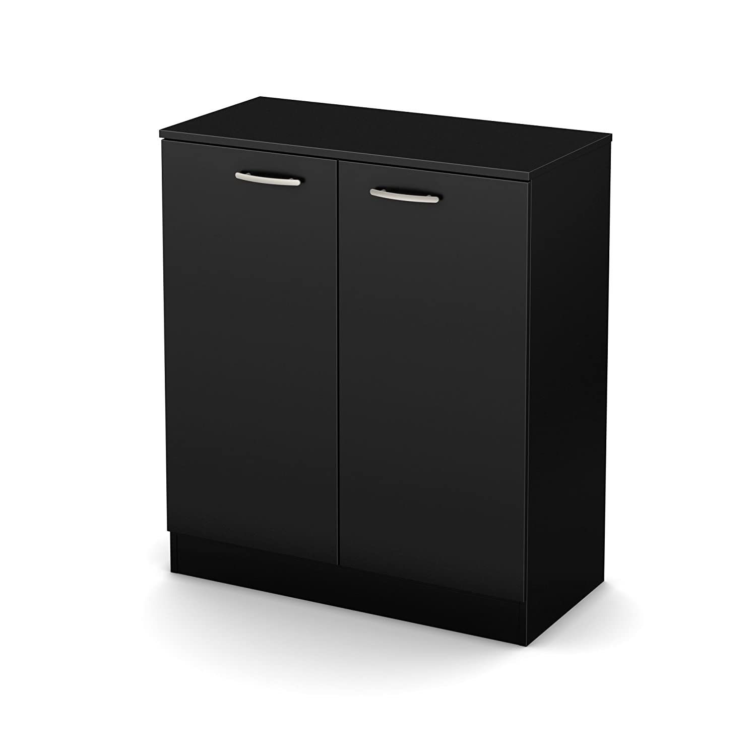 Amazon South Shore Axess Small 2 Door Storage Cabinet Pure