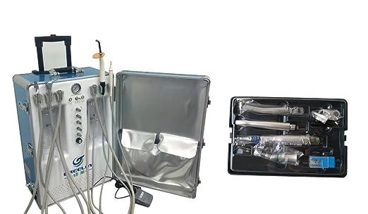 Primera Dental portátil unidad greeloy gu-p206s Compresor De Aire + aire Scaler Kits (ex203 C + pax-su + AS2000) 4H: Amazon.es: Bricolaje y herramientas