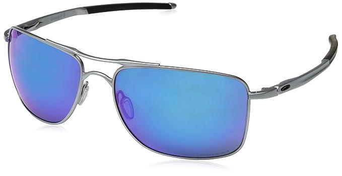 Oakley Gauge 8 >> Oakley Men S Gauge 8 Non Polarized Iridium Rectangular Sunglasses