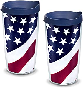 Tervis Tumbler With Lid, 16 oz - Tritan, Clear