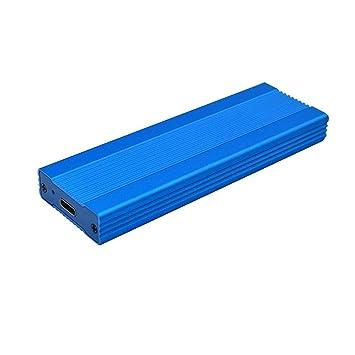 TOOGOO HDD Recinto M.2 Ssd Recinto Caja M.2 a USB Adaptador M.2 ...