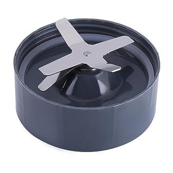 Fdit Pieza de Repuesto de Base de Cuchilla de Acero Inoxidable Cross Extractor para NutriBullet Blender 600 / 900W(600W): Amazon.es: Hogar