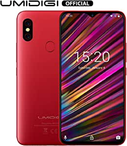 UMIDIGI F1 Smartphone Libres Android 9.0 Teléfono Inteligente Dual ...