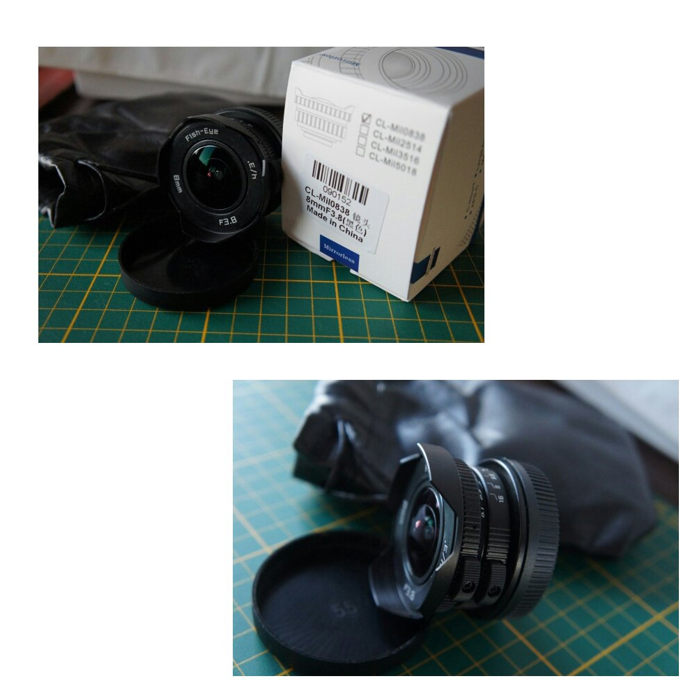 8mm F3 8 Fish-eye CCTV Lens For Micro Four Thirds Mount: Amazon co