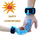Amazon Price History for:Baby Child Anti Lost Safety Wrist Link Harness Strap Rope Leash Walking Hand Belt for Toddlers, Kids(2.5m Blue)