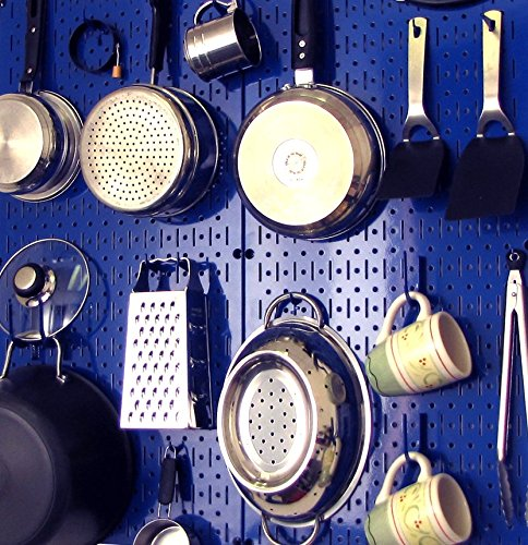 Wall Control 30-P-3232BU Blue Metal Pegboard Pack by Wall Control (Image #9)