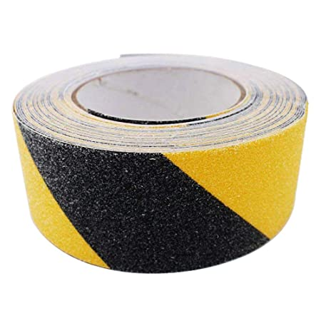 Black 10M Durable High Grip Anti Slip Tape Non Slip Adhesive Backed Tape