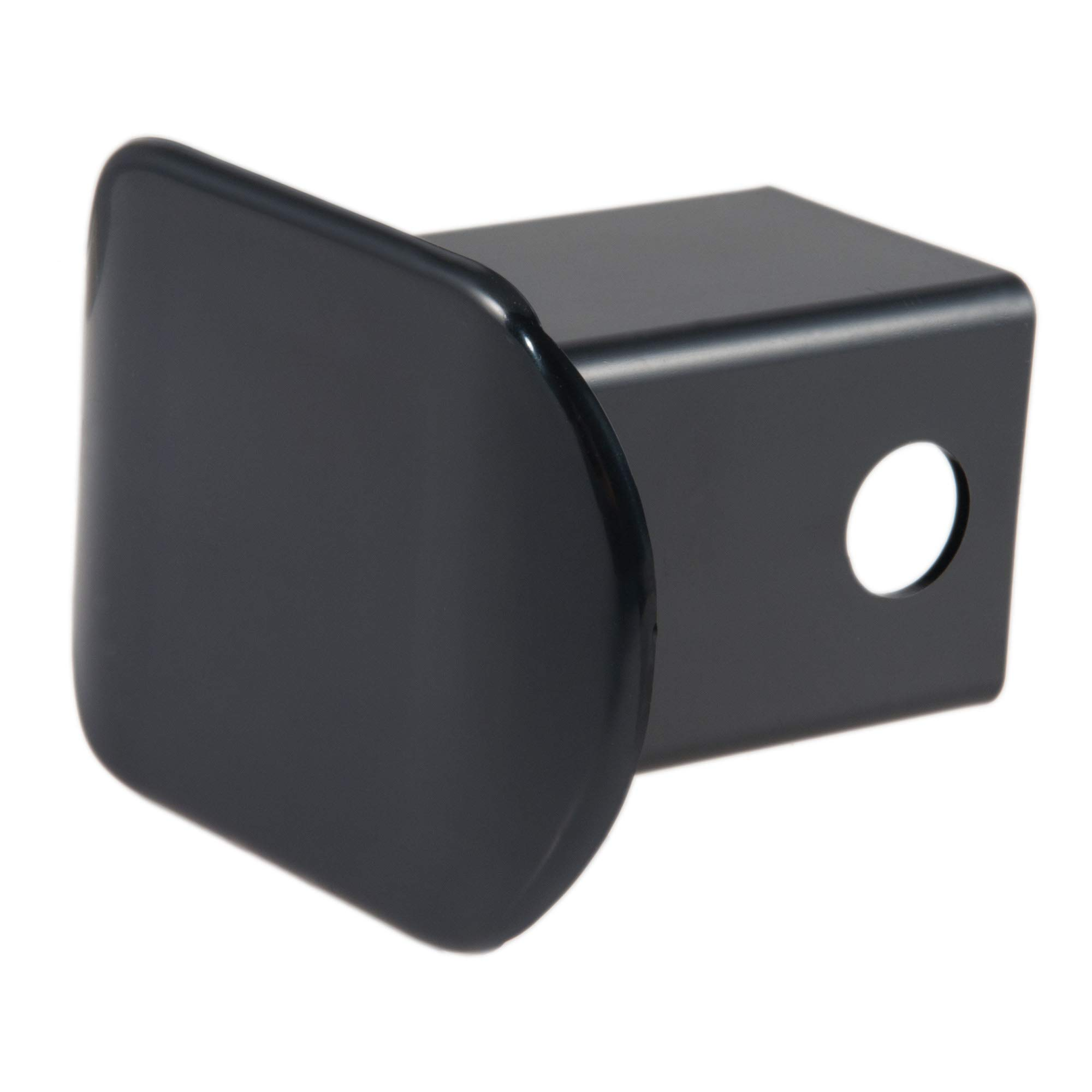 CURT 22180 Black Plastic Trailer Hitch Cover, Fits 2-Inch Receiver