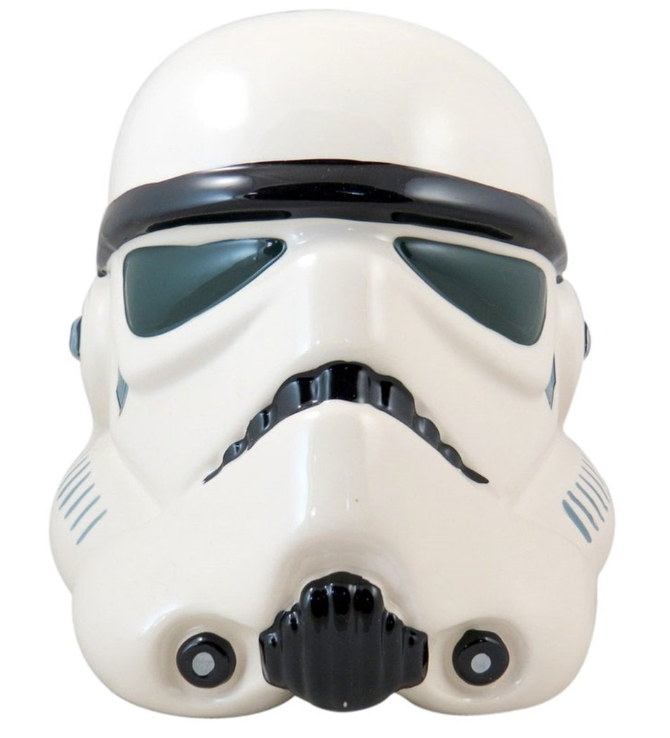 Star wars ice cream party birthday party food ideas printables - Stormtrooper cookie jar ...