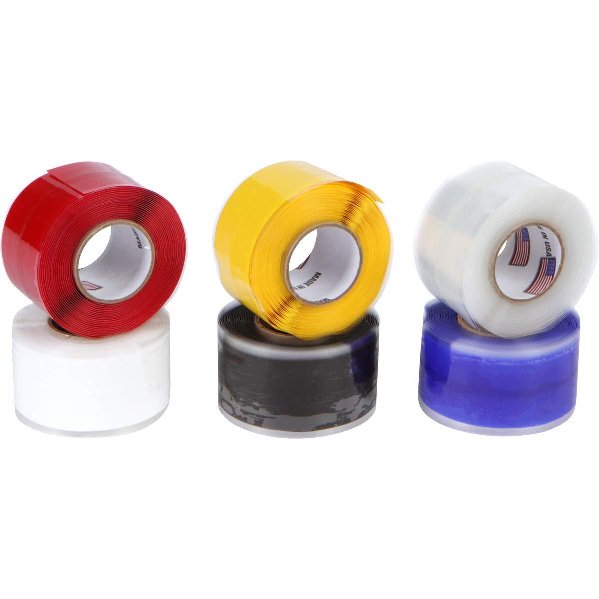 Miracle Wrap Self-Fusing Silicone Repair Tape (Pack of 6)