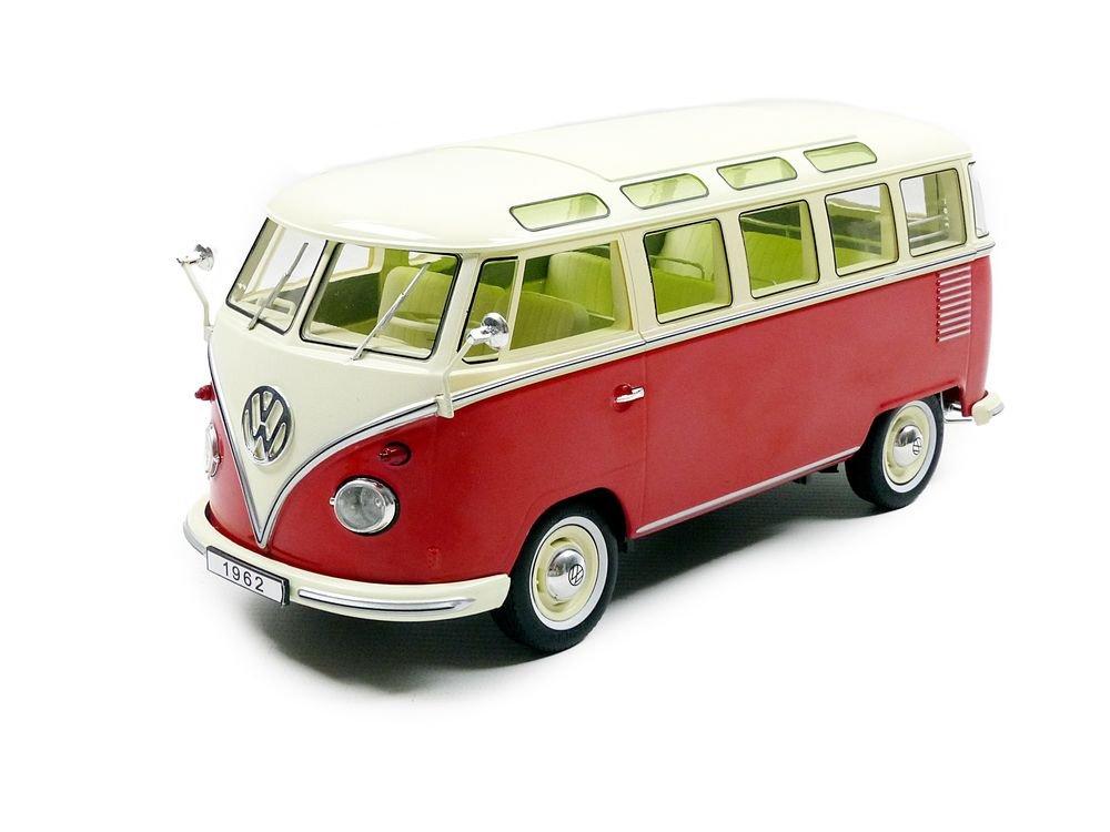 Kk Scale Models – 180151r – Volkswagen T1 Samba Bus – 1959 – Escala 1/18 -
