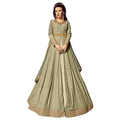 578fd09598 Amazon.com: ADINTERNATIONAL Indian Ethnic Designer Party wear Dress Anarkali  Salwar Suit Embroidered Long Gown Women Wear 1003: Clothing