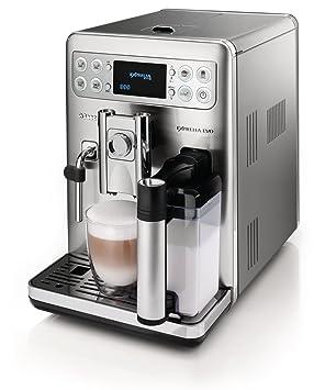 Saeco HD8857/01 Exprelia Evo - Cafetera automática (acero inoxidable, 1,6
