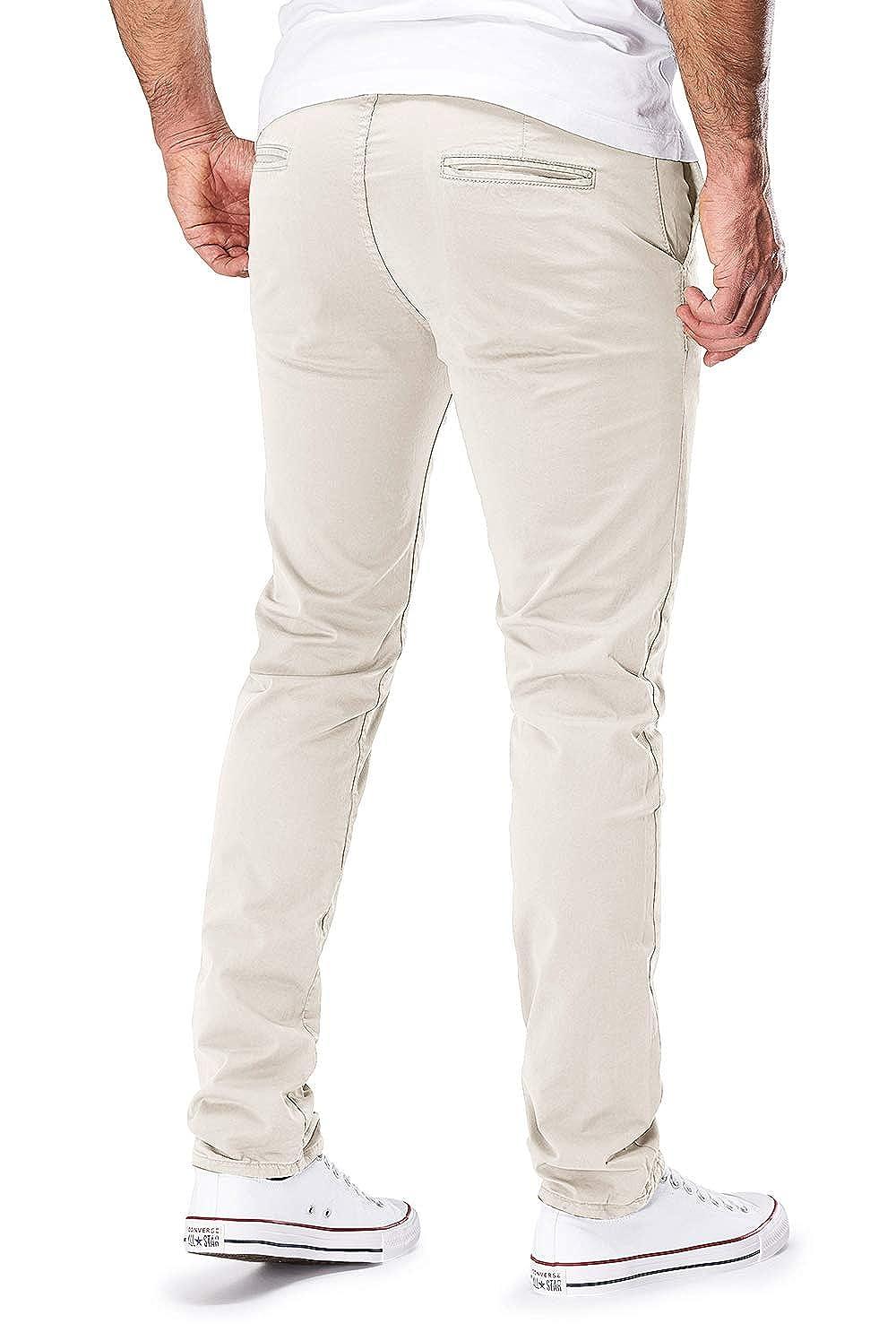 5d66e7e18227af Merish Uomo Pantaloni Chino Cotone Jeans Pantaloni Casual Pantaloni  Figura-sollecitato Diversi Colori, Modell 168: Amazon.it: Abbigliamento