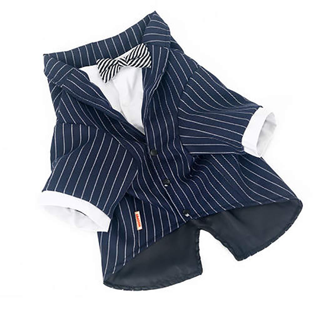 70b7bcf8176d XXXXL Pet Wedding Shirt,Pet Stylish Four-Legged Tuxedo Design Bow ...