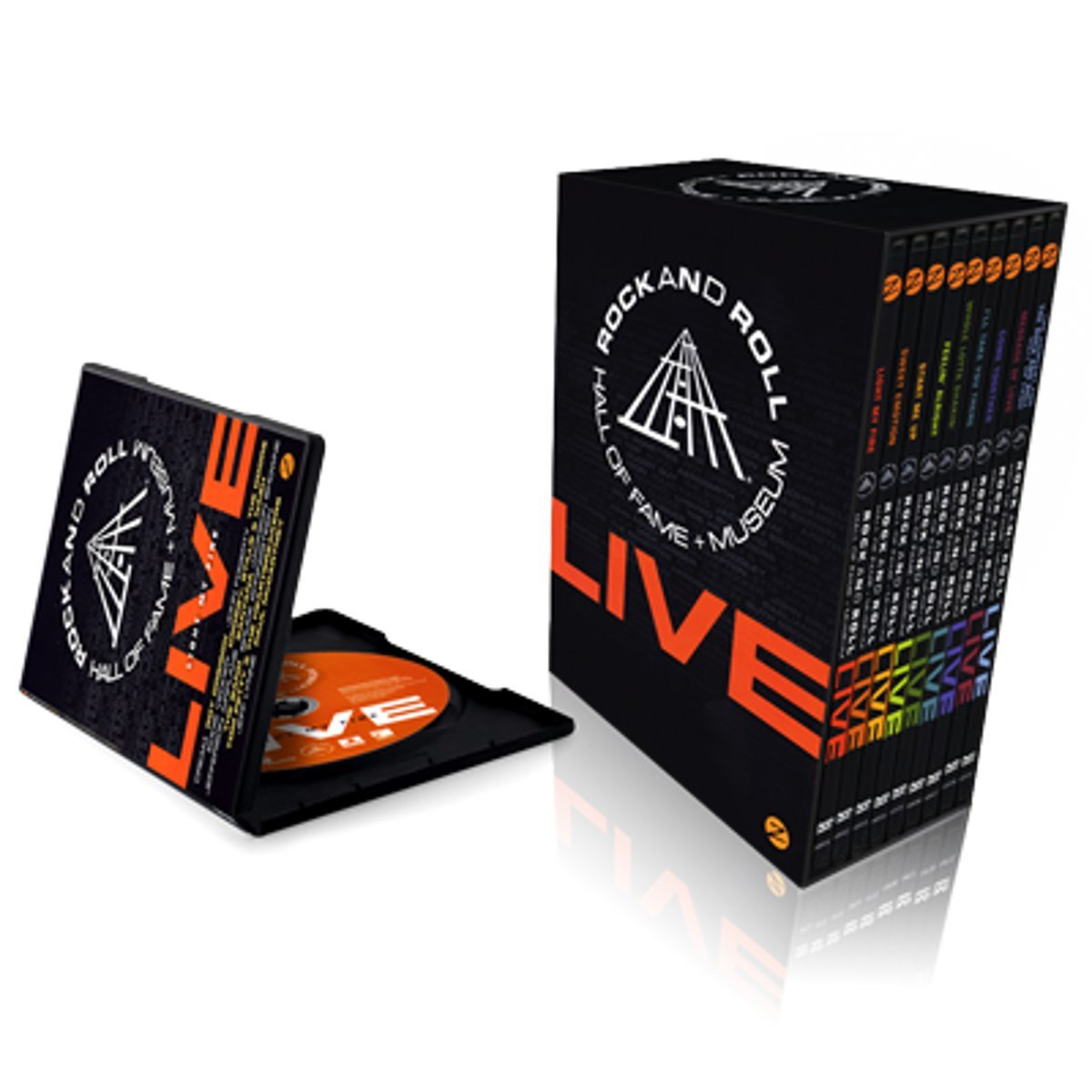 Rock and Roll Hall of Fame LIVE 9 DVD Box Set PAL - Region 2 ...