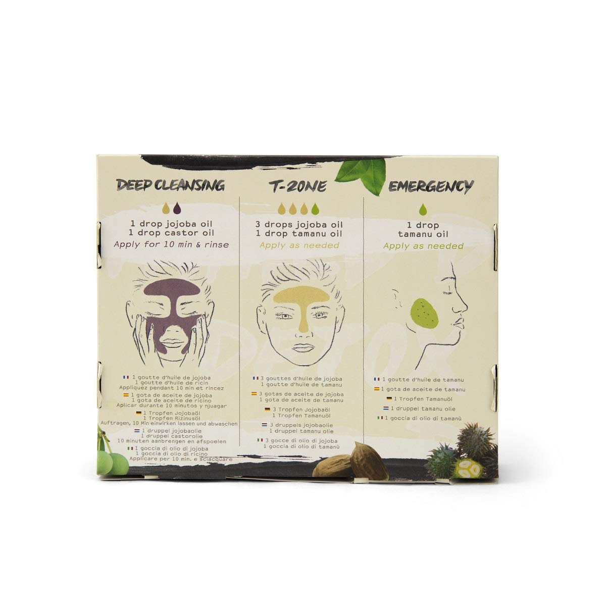 Oleum Vera - DIY Organic Beauty Kit - Detox Face Serums + FREE Detox Masks