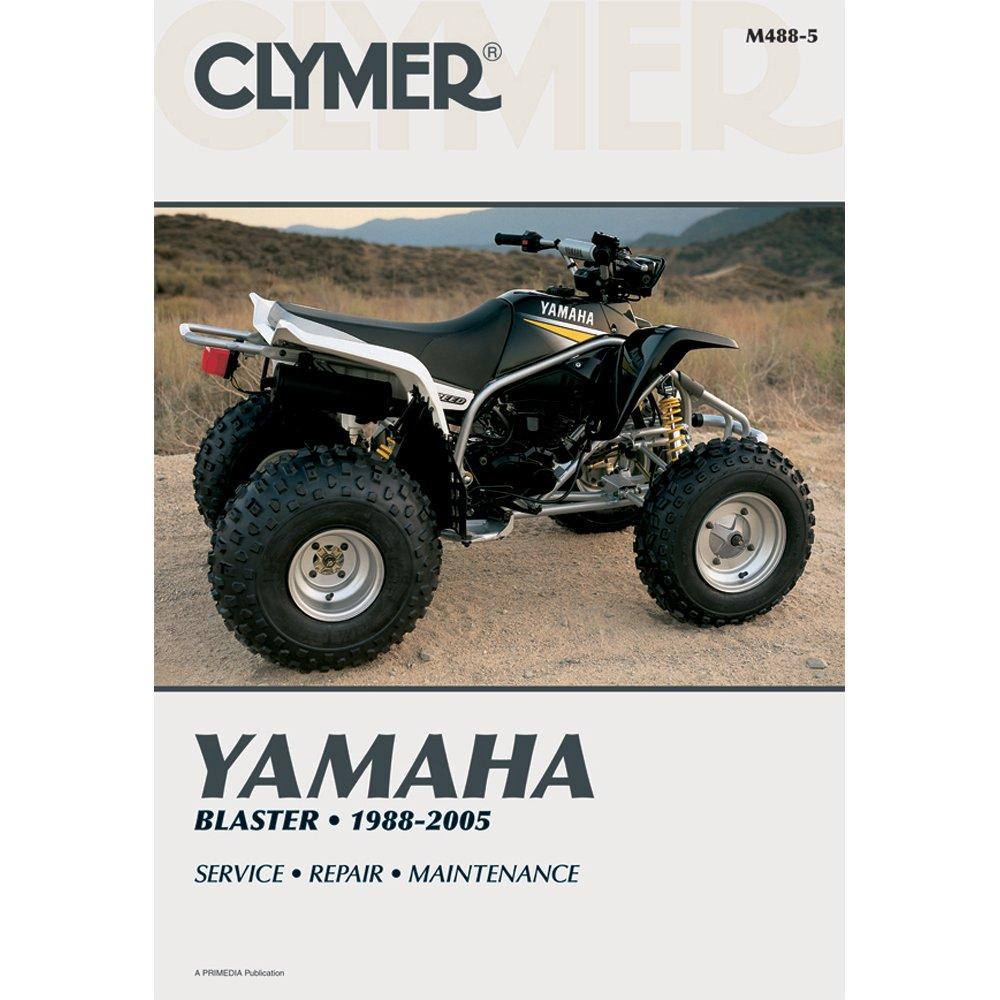 Amazon.com: Clymer Repair Manual for Yamaha ATV Blaster YFZ-350 88-05:  Manufacturer: Automotive