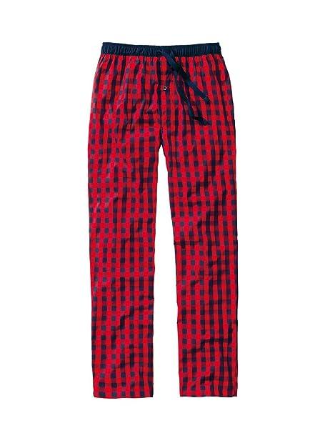 Ceceba - Pantalón de pijama - para hombre Rojo Marte XL