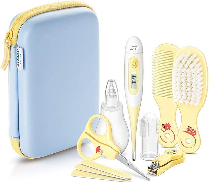 Philips AVENT SCH400/00- Kit accesorios para el cuidado del bebé - Amarillo: Amazon.es: Bebé