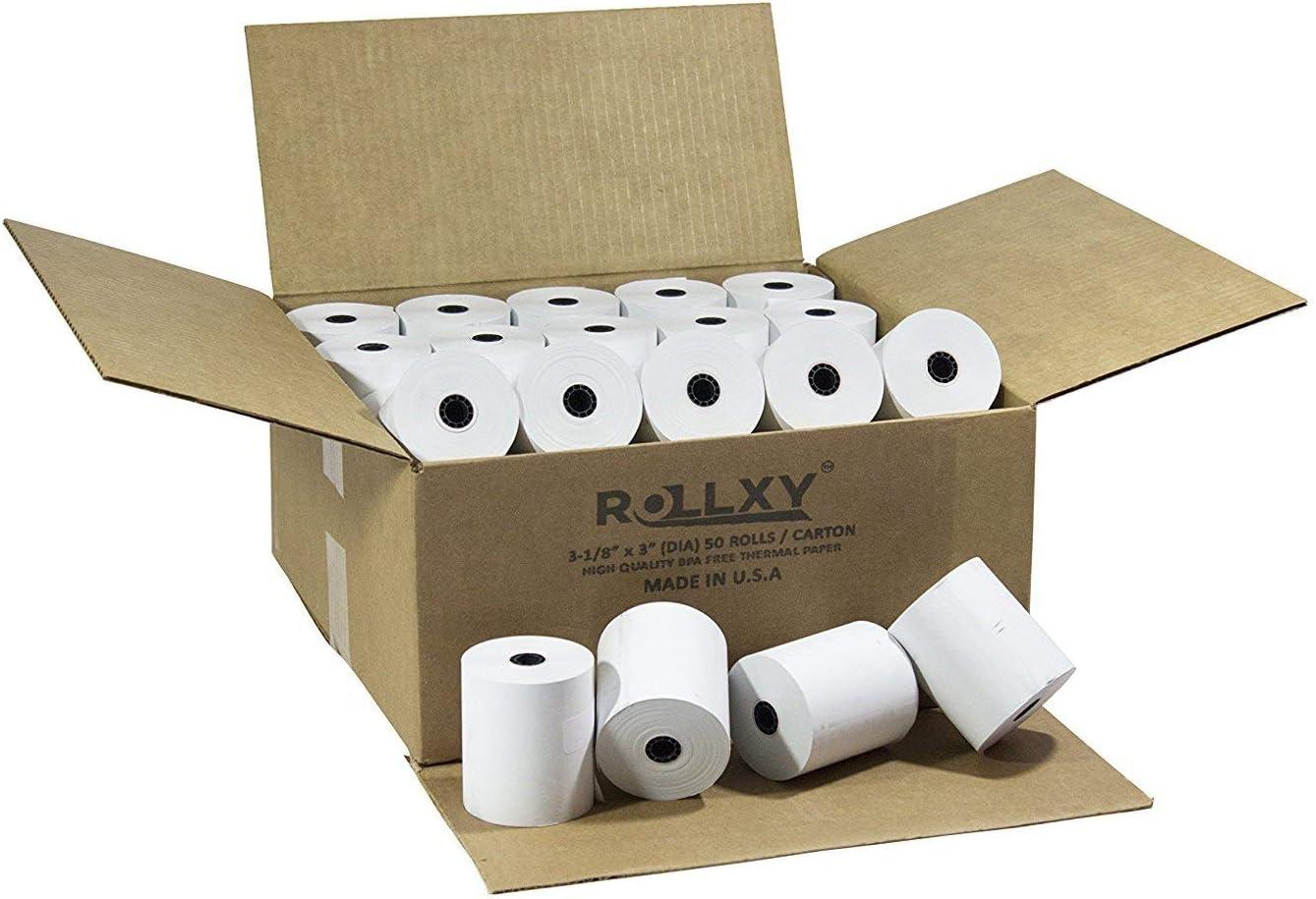 Pospaperroll 58 mm Thermal paper Rolls for AGPtek USB POS printer 50 rolls