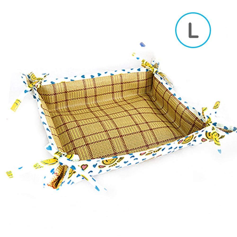 Somedays Oxford-Tuch-wasserdichtes Haustier-K/ühlmatten-Nest Doppeltes Gebrauch Non-Stick Haar-Haustier-Auflage F/ür Katzenhund
