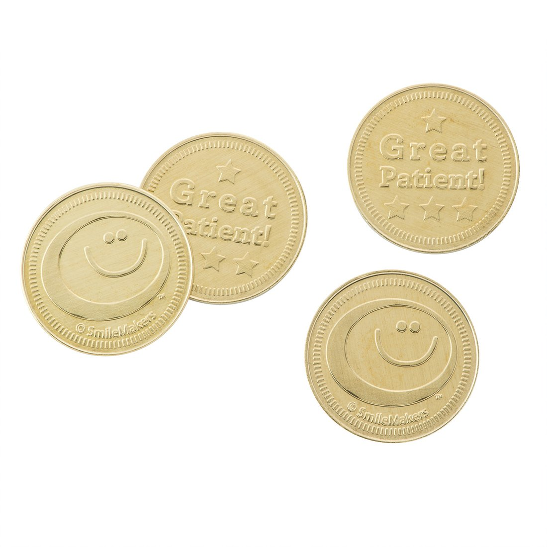 SmileMakers Vending Machine Tokens - Prizes 100 per Pack by SmileMakers