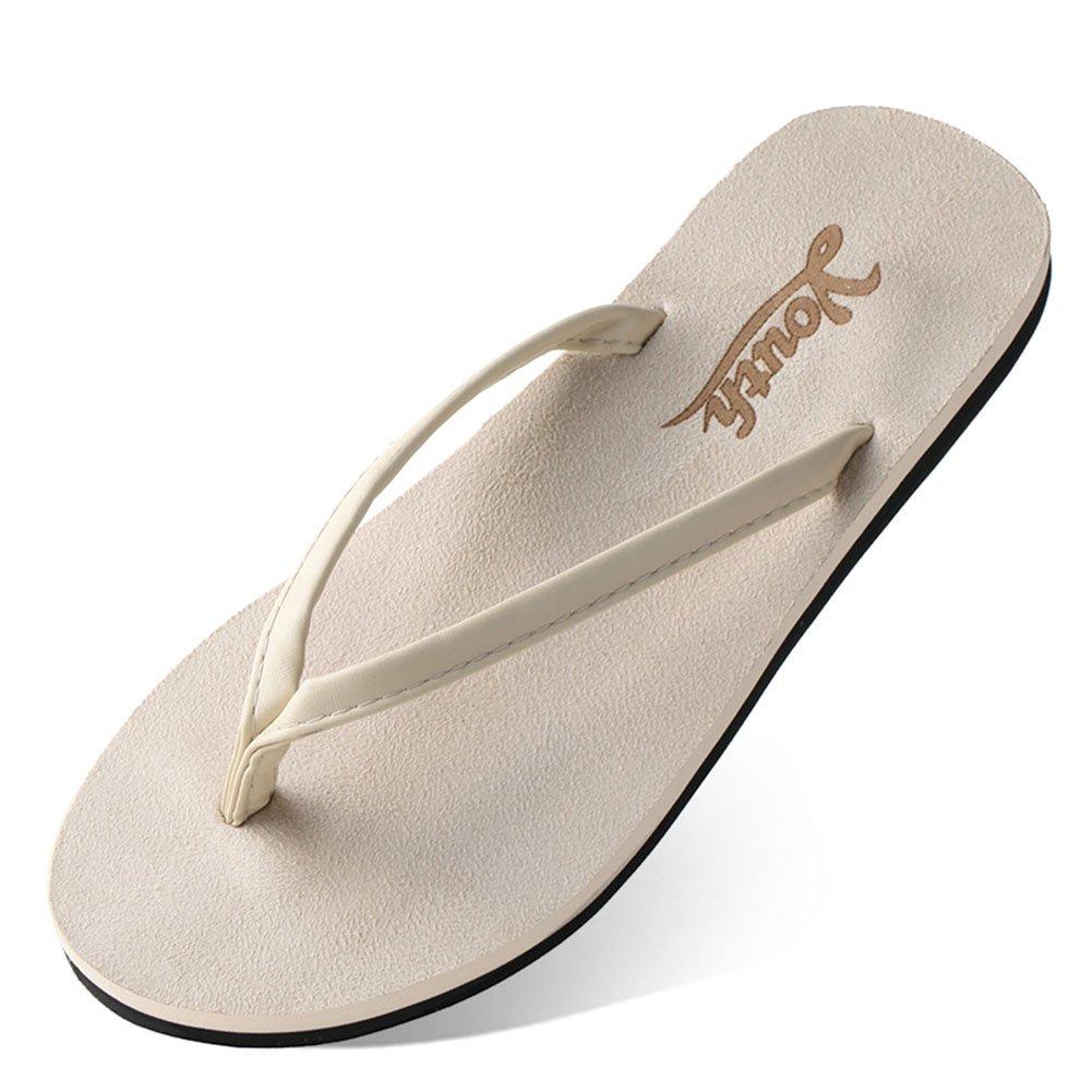 HaloVa Flip-Flop, Men's Women's Comfy Sandal, Flat Slippers with Non-Slip Sole