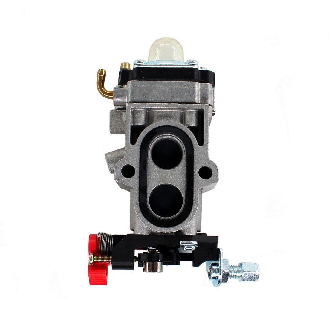 Uspeeda Carburetor For Redmax Ebz7500 Back Pack Blower Genuine Oem Mtd Troybilt 7531225 X3 Replace 581156101 544363001 Fuel Line Garden Outdoor