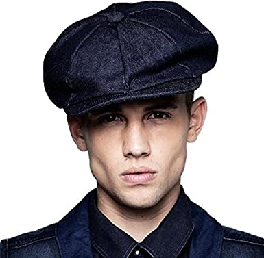 G Star RAW HADGE Newsboy Cap in Raw Hadge Denim b6ee66687fd