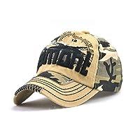 Camouflage Army Cap Herren Basecap Snapback Sport Outdoor Baseball Kappe