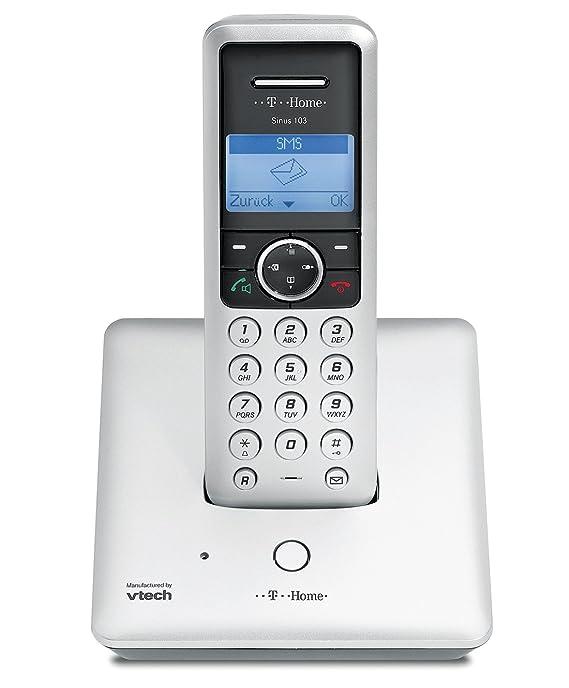 Deutsche Telekom T-Home Sinus 103 Schnurlostelefon mit: Amazon.de ...