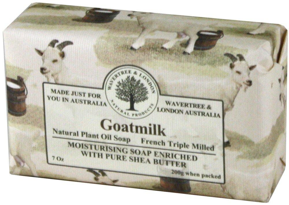 Wavertree and London Goatmilk Australian Natural Luxury Soap Bar 7 Ounces 4 Bars